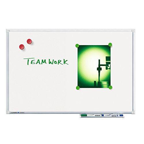 Legamaster 7-102843 whiteboard Economy, speciale lak, magnetisch, 90 x 60 cm