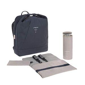 1103028401 LÄSSIG Babyluierrugzak luiertas met accessoires duurzaam geproduceerd/Ocean Backpack navy