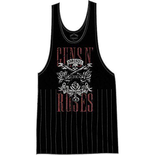 GNRTVT01LB03-Black Guns & Roses Women's Guns N' Roses eetlust voor vernietiging met kwastjes T-shirt