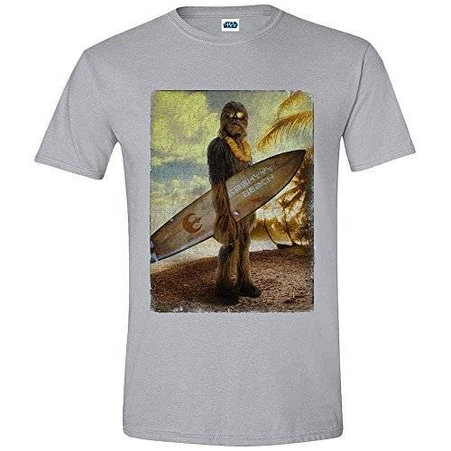 4880_21344 T-Shirt Star Wars Chewbacca Surf (Taille L)