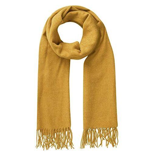 17083758-Nugget Gold PIECES Dames Pcjira Wool Scarf Noos Sjaal, geel (nugget goud nugget goud), Eén maat