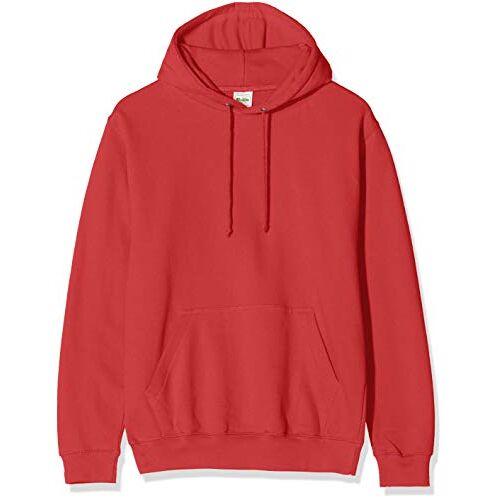 JH001MBKRM-BKR AWDis Heren College Hoodie rood M