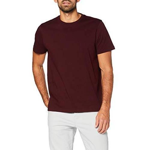 AZJM-0010_Burgundy Meraki AZJM-0010 T-shirts, Bourgondië, L