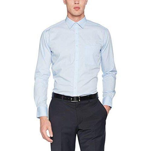 KK114-LBL-15-LBL Kustom Kit Zakelijk shirt voor heren