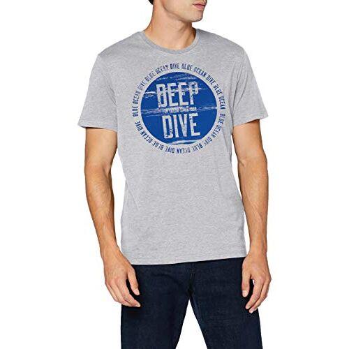 1019714 TOM TAILOR Heren duiker-print T-shirt