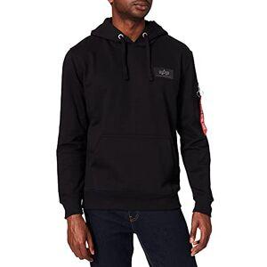 178318-03-L ALPHA INDUSTRIES Heren Back Print Hoody Camo Sweatshirt, zwart (negro), L
