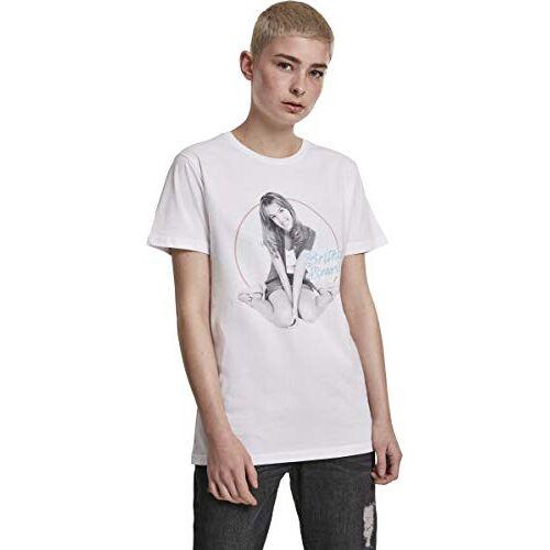 MC415 Britney Spears T-shirt voor dames met print van de jonge Britney en naambelettering