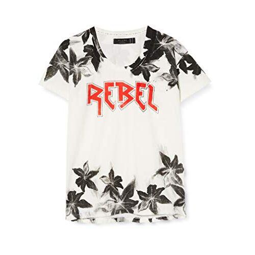 50BRBT17 Religie Rebel T-shirt voor dames