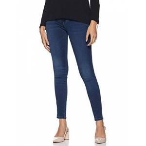 15181725-Dark Blue Denim ONLY dames skinny jeans