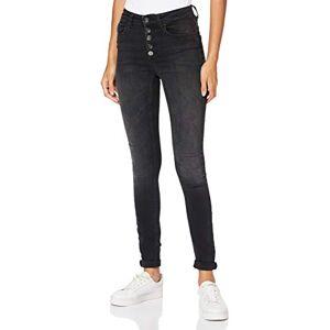 15179112-Black Denim ONLY OnLBlush HW Skinny Fit Jeans voor dames, Black denim, (XS) W x 34L