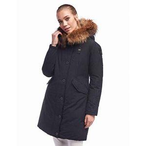 19WBLDK03255 005565-999 Blauer USA Impermeabile/Trench Lunghi Imbottito Piuma mantel