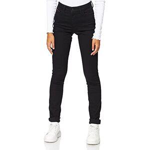 DW0DW04328-945 Tommy Jeans High Rise Santana Skinny Jeans voor dames zwart W24/L34