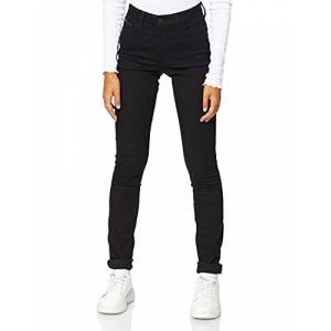 DW0DW04328-945 Tommy Jeans High Rise Santana Skinny Jeans voor dames zwart W27/L34