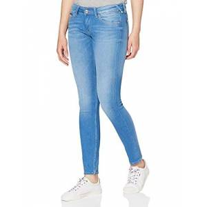 DW0DW04409-567 Tommy Jeans Low Rise Sophie Skinny Jeans voor dames blauw W33/L32