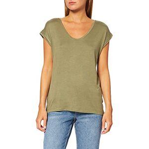 17078732-Deep Lichen Green PIECES Dames Pcbillo Tee Solid Noos T-shirt