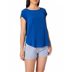 15142784-Surf the Web ONLY dames Onlvic S Solid Noos WVN Top