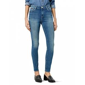 DW0DW03975-911 Tommy Jeans High Rise Santana Skinny Jeans voor dames blauw W32/L34