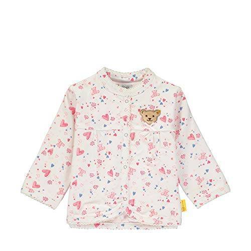 L002011104 Steiff Babymeisje met teddybeermotief gebreide jas