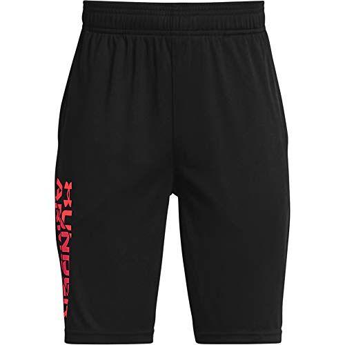 1361818-001-Youth Large Under Armour Boy's Prototype 2.0 Shorts, Zwart, Large