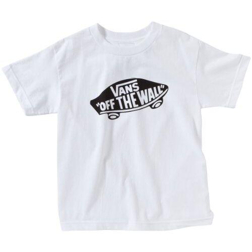 VIVEYB2 Vans Jongens Otw Jongens T-shirt met korte mouwen, wit (wit/zwart), groot