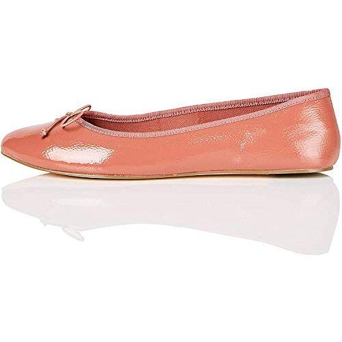 BALLET-S-1A-1 Amazon-merk vinden. Dames Gesloten Teen Ballet Flats,roze,4 UK