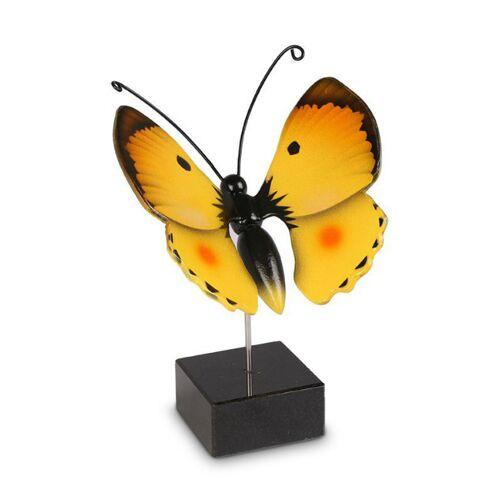 Vlinder urn Luzerne met gele vleugels
