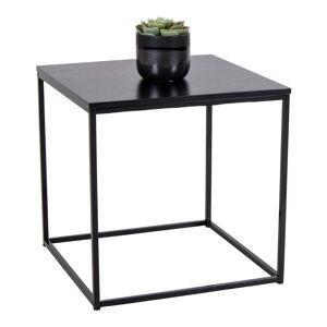 House Nordic Moderne zwarte bijzettafel ''Vita'' - 45L45B45HCM