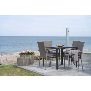 House Nordic Moderne grijze ''Colorado'' Eettafel - L90xB90xH74 cm