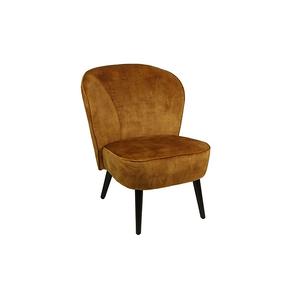 Countryfield Industriële gouden ''Denver'' Cocktail stoel - L60xB69,5xH76 cm