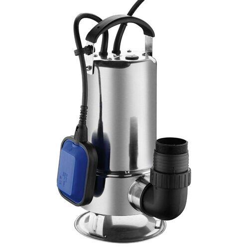 Hyundai dompelpomp 750W INOX RVS / waterpomp / vijverpomp / zwembadpomp / vuilwaterpomp / 13000 liter per uur