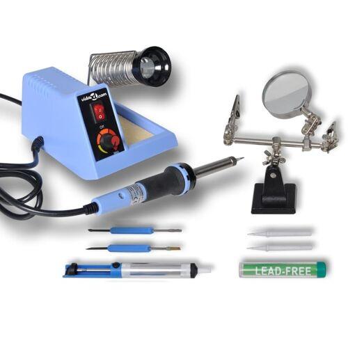 VXL vidaXL Soldeerstation analoog met accessoires 48 W