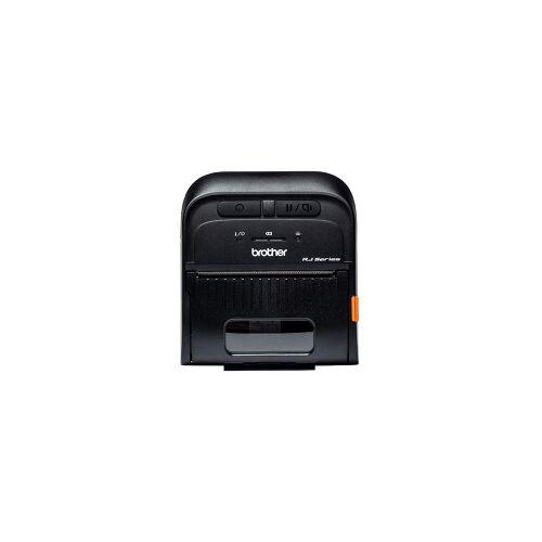 Brother RJ-3035B mobiele bonprinter zwart met bluetooth, zwart-wit