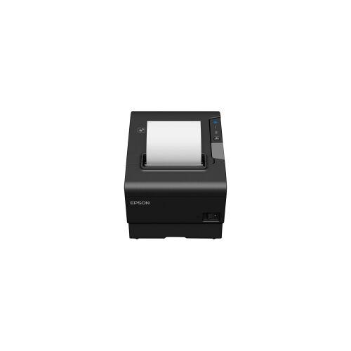 Epson TM-T88VI-IHUB (751) bonprinter zwart met Ethernet, zwart-wit