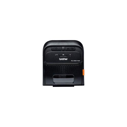 Brother RJ-3055WB mobiele bonprinter zwart met bluetooth en wifi, zwart-wit