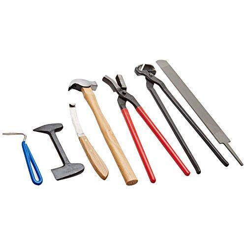 005102-70-1 PFIFF, 005102, hoefbeslagset met tas, hoefbeslag, gereedschapsset, 7 delen
