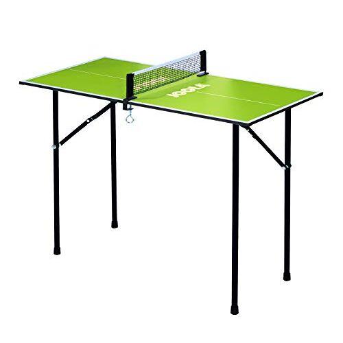 19104 JOOLA Tafeltennistafel mini groen tafeltennistafel, één maat