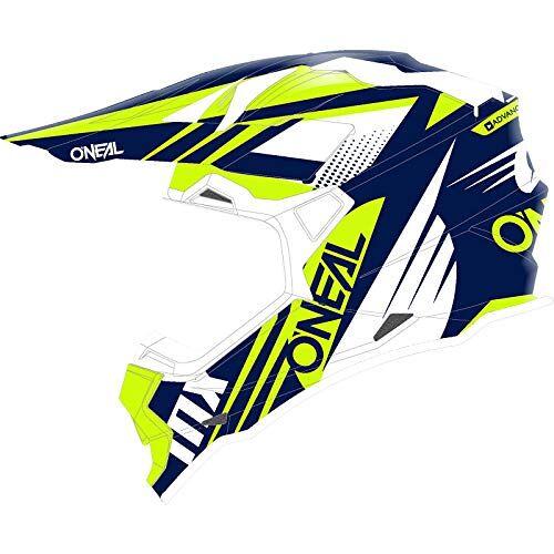 0200-403 O'NEAL   motorcrosshelm   MX Enduro   ABS-schaal, veiligheidsstandaard ECE 2205, ventilatieopeningen voor optimale ventilatie en koeling   2SRS-helm Spyde 20   Volwassen   Blauw/wit/geel   Maat M