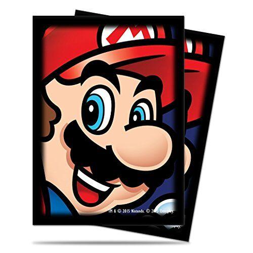 84592 Ultra Pro  Kaartenbeschermhoezen Super Mario, 65 hoezen