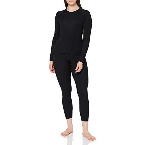 3Y86800 CMP Dames thermo-ondergoed ondergoed set, nero, 46