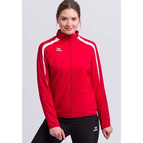 1011831 ERIMA Dames presentatiejack presentatiejas, rood/donkerrood/wit, 36,