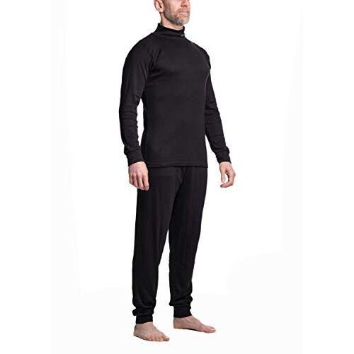 8410 SHER-WOOD ondergoed voor mannen I skiondergoed I ondergoed I ondergoed met lange mouwen I ideaal bij kou I ijshockey & motorfiets-ondergoed I warm ondergoed voor heren I 2-delig,