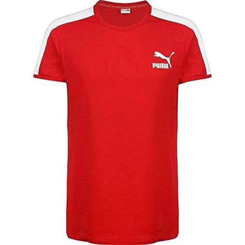 581558 Puma Iconic T7 Slim Tee T-shirt, heren, High Risicovood, XL