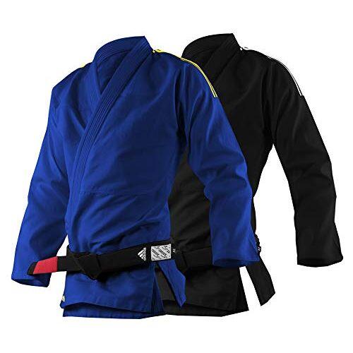 adidas Unisex BJJ Student Uniform-250g Jiu Jitsu Vechtsporten Gi, Zwart, A1