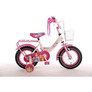 Volare31206 Disney Meisje Prinses Fiets, Roze, Wit