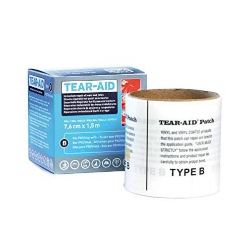 5714003 Relags reparatiemateriaal rol type B reparatieset, transparant