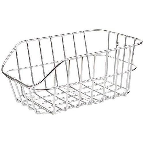 160854 Basil Fietsmand Cento aluminium aluminium, 45 cm x 33 cm x 21 cm