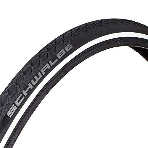 10282440.01 Schwalbe band 24x1.00 (25-540) Marathon Plus zwart/reflex stijf fietsbanden geen soort, 24 x 1
