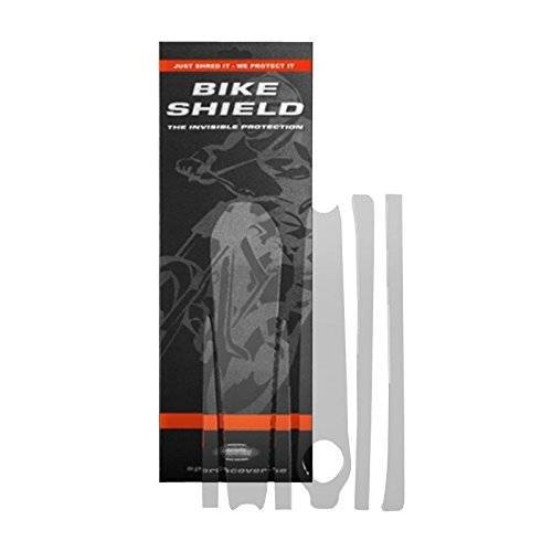 BS10010-113 Bike Shield Unisex crankshield zwengel armbescherming, transparant glanzend