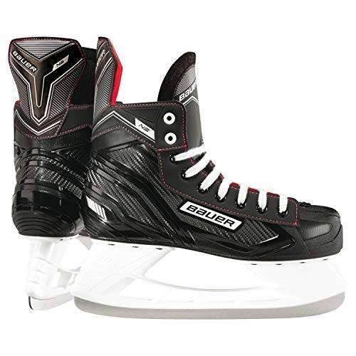 688698313345 Bauer Kinderen Ns Junior schaatsen, zwart/rood, 36 EU