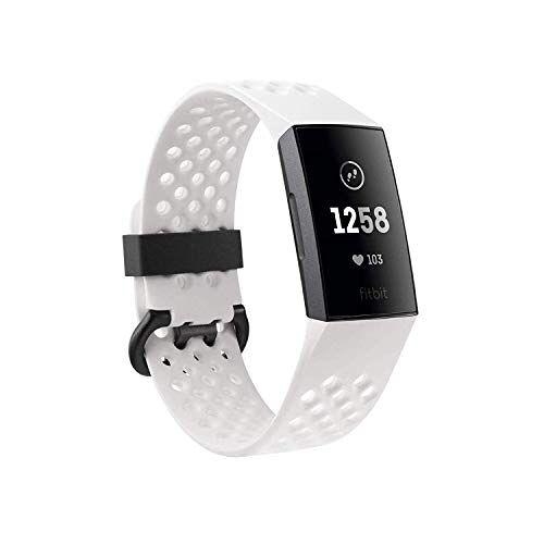 FB410GMWT Fitbit Charge 3 Gezondheids- en fitnesstracker.